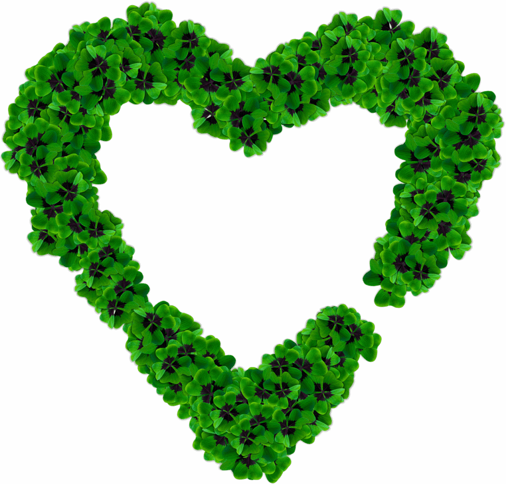 Ian Leaf ireland 4 leaf clover heart